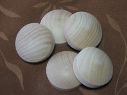 Large Wooden Plugs