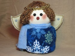 Angel Toilet Paper Roll Cover Pattern