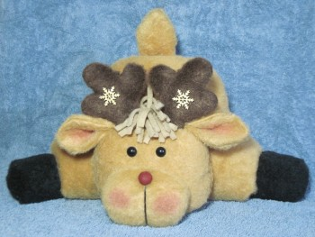 Bottoms Up! Reindeer Pattern