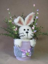 Bunny in a Bucket Pattern