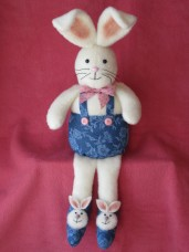 Bunny Slippers Pattern