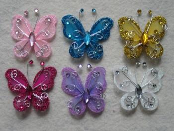 Glittered Butterfly