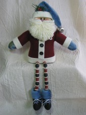 Dangle-Legs Santa Pattern