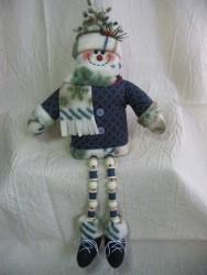 Dangle-Legs Snowman