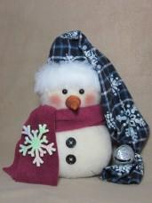 Flakey Snowman Pattern