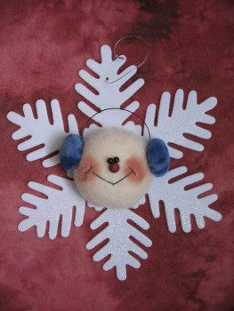 Frosty the Snowflake Pattern