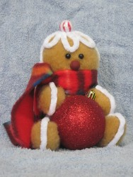Gingerbread Bauble Holder Pattern