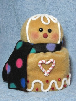 Gingerbread Toilet Paper Roll Cover Pattern