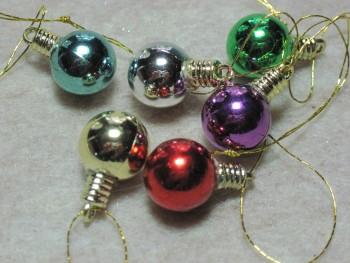 """1/2"""" Christmas Balls"""
