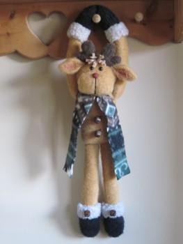 Hang On! Reindeer Pattern