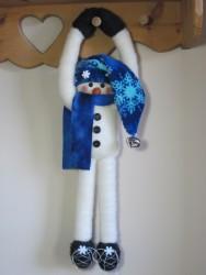 Hang On! Snowman Pattern