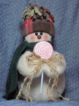 Lollipop Snowman Pattern