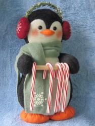 Penguin Candy Cane Holder Pattern