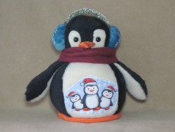 Penguin Snow Globe Pattern