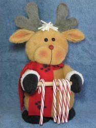 Reindeer Candy Cane Holder Pattern