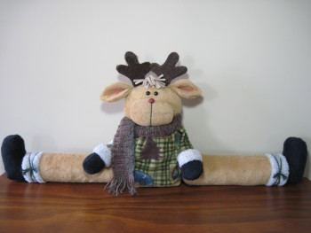 Reindeer Draft Stopper Pattern