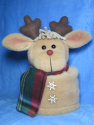 Reindeer Toilet Paper Roll Cover Pattern