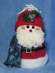 Santa Toilet Paper Roll Cover Pattern