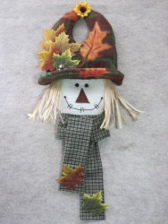 Scarecrow Knobbie Pattern