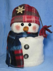 Snowman Toilet Paper Roll Cover Pattern
