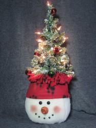 Snowman Tree-on-Top Pattern
