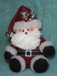 Tuckered Santa Pattern