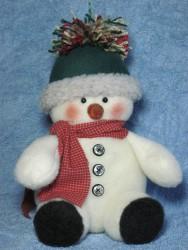 Tuckered Snowman Pattern