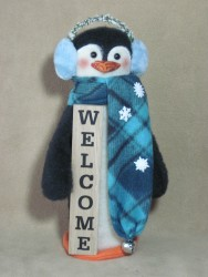 Welcome Penguin Pattern