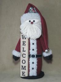 Welcome Santa Pattern