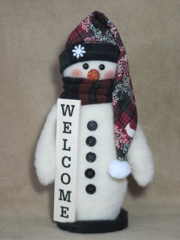 Welcome Snowman Pattern